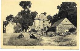 """12 - AVEYRON - """" LACALM """" Château De Rochegrés - Carte écrite En 1940 - - Non Classificati"""