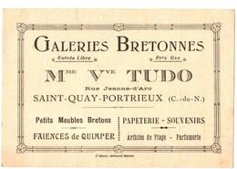 GALERIES BRETONNES TUDO . ST QUAY PORTRIEUX - Publicidad