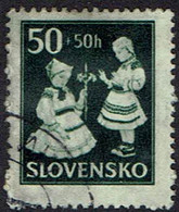 Slowakei 1943, MiNr 112, Gestempelt - Usados