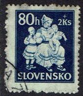Slowakei 1943, MiNr 114, Gestempelt - Usados