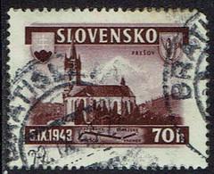 Slowakei 1943, MiNr 124, Gestempelt - Usados