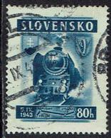 Slowakei 1943, MiNr 125, Gestempelt - Usados