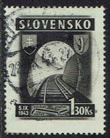 Slowakei 1943, MiNr 126, Gestempelt - Usados