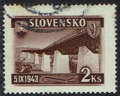 Slowakei 1943, MiNr 127, Gestempelt - Usados
