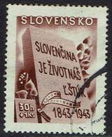 Slowakei 1943, MiNr 128, Gestempelt - Usados