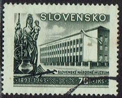 Slowakei 1943, MiNr 129, Gestempelt - Usados