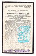 DP Benedictus Stoffelen ° Eksaarde Lokeren 1865 † Berchem (Antwerpen) 1918 - Devotion Images
