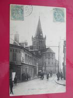 SANVIC  Eglise 1905 - Other Municipalities