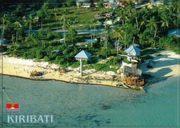 1 AK Kiribati * Blick Auf Betio Und Relikte Aus Dem 2. Weltkrieg - Betio Liegt Im Süden Des Tarawa Atolls * - Kiribati