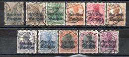 Pologne  Occupation Allemande Guerre 1914/18   N° 6/16  Oblitéré - Non Classificati