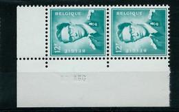 Paire Datée Du 23 II 66 Du N° 1371 P3  (**) - 1953-1972 Anteojos