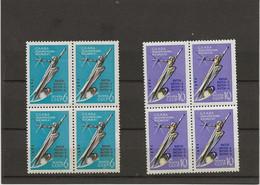 RUSSIE - SERIE COSMOS N° 2585 Et 2586 - BLOC DE 4 NEUF SANS CHARNIERE  -ANNEE 1962 - Unused Stamps