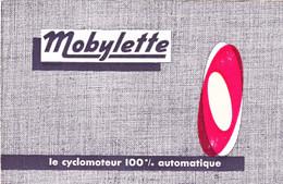 Mobylette  Le Vélomoteur 100% Automatique - Advertising