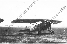 PHOTO RETIRAGE REPRINT AVION     MORANE SAULNIER 230 N°497 EAP 19 NIMES 1940 - Luftfahrt