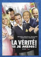 CPM Humour Satire Politique Emmanuel Brigitte Macron Edouard Philippe Pastiche Affiche Film La Vérité Si Je Mens ! - Humour