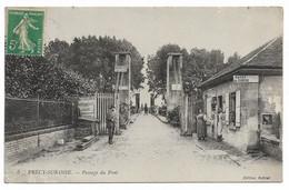 PRECY SUR OISE - Passage Du Pont - Précy-sur-Oise