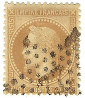 FRANCE Classique:  Le Y&T 28B, Obl. étoile 22 - 1863-1870 Napoleone III Con Gli Allori