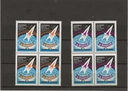 RUSSIE - SERIE COSMOS N° 2545 Et 2546- BLOC DE 4 NEUF SANS CHARNIERE  -ANNEE 1962 - Unused Stamps