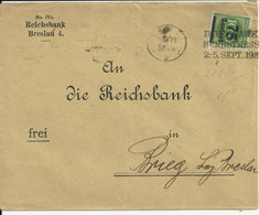 Inflation Cover From Breslau 1923. - Storia Postale