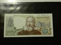 REPUBBLICA ITALIANA  2000 LIRE Galileo Galilei FDS - 2000 Lire