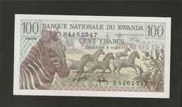 Rwanda, 100 Francs, 1978 Issue - Rwanda