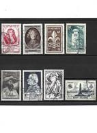 467 LOT De 8 Timbres 1947 YT 779-784-785-786-787-788-789-790 Oblitérés - Usados