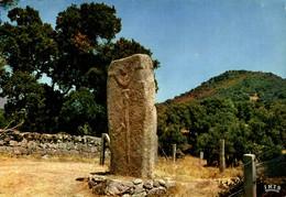 """N°10971 Z -cpsm Sollacaro -statue Menhir """"Filitosa"""" - Dolmen & Menhirs"""