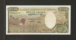 Rwanda, 1,000 Francs, 1978 Issue - Rwanda