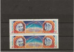 RUSSIE - SERIE COSMOS N° 2691 Et 2692- BLOC DE 4 NEUF SANS CHARNIERE  -ANNEE 1963 - Unused Stamps