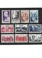 470 LOT De 10 Timbres 1948 Oblitérés YT 793-794-803-804-805-792-816-815-818-819 - Usati