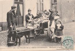 08 Ardennes  ATTELAGE DE CHIENS Marchande De Legumes - Otros Municipios