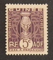 GUINEE FRANCAISE TAXE  YT 26 NEUF*  ANNÉE 1938 - Unused Stamps