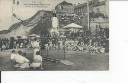 PORT EN BESSIN   Les Cadets De Neustrie   Travail Aux Barres Paralleles - Port-en-Bessin-Huppain