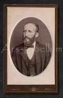 Photo-carte De Visite / CDV / 2 Scans / Photo / Homme / Man / Photographe / Legrand / Tournay / Tournai / Doornik - Old (before 1900)