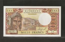 Djibouti, 1,000 Francs, 1979-1988 ND Issue - Djibouti