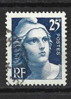 546 Marianne De Gandon YT 833 De La Bande Du Centenaire Du Timbre 1949 Oblitéré - Gebraucht