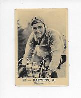 Wielrenner- Coureur Cycliste-Baeyens A-no 98-Ninove - Wielrennen