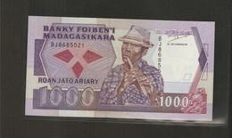 Madagascar, 1,000 Francs, 1988-1994 ND Issue - Madagascar