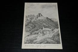28804-                GRUSS AUS FETAN / ORIGINALZEICHNUNG VON DR. ERNST BUSS - 1907 - GR Grisons