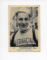 Wielrenner- Coureur Cycliste-Vermaelen Alp-no 40-Heyst-op-den-Berg - Radsport