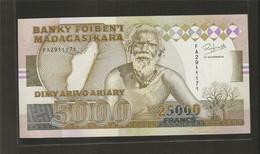 Madagascar, 25,000 Francs, 1988-1994 ND Issue - Madagascar
