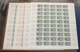 France - 1959 - N°Yv. 1203 à 1206 - Réalisations Techniques - Feuilles Complètes - Neuf Luxe ** / MNH / Postfrisch - Full Sheets