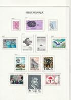 Belgie   .    15 Pagina's  Met Zegels  .     O   .    Gebruikt  .   /   .   Oblitéré - Usati