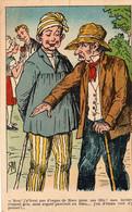 S 4  -  352...355    -  4   CARTES  ILLUSTREES    -          Scènes  Humoristiques  Rurales   - - Other Illustrators