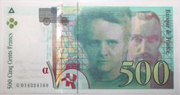 France - 500 Francs - 1994 - PICK 160a.1 / F76.1 - Pr. NEUF - 500 F 1994-2000 ''Pierre Et Marie Curie''
