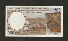 Afrique Centrale (Etats D' ), 500 Francs, E For Cameroun (1993-2002) - Central African States