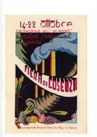Cartolina Fiera Di Cosenza 14-22 Ottobre 1950 Non Viaggiata Annullo Filatelico - Reclame