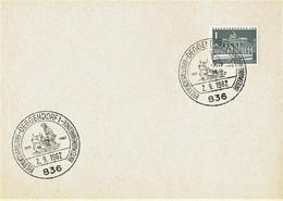 Germany - Sonderstempel / Special Cancellation # Deggendorf (i709) - Lettres