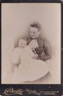 Photo Tanger Une Femme Avec Son Bebe Photo A Cavilla Tanger Réf 4949 - Old (before 1900)