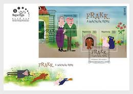 Hungary 2020 Hongrie Cartoon Fairy Tale Characters PT2 Frakk Terror CATS Dog Ms3v FDC - FDC